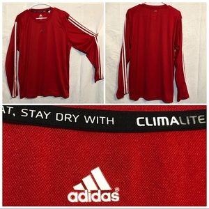 Adidas Climalite Athletic shirt size large